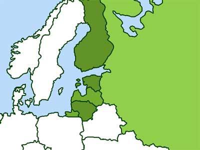 Baltijos šalys, Rusija, Suomija, Ukraina IQ Routes™ Tomtom 2017 - GPS ŽEMĖLAPIAI PND / Tomtom