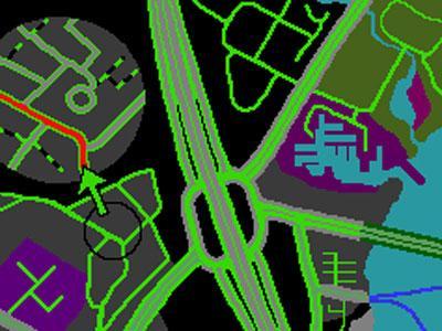 Tomtom grafikos rinkiniai: night cars - GPS ŽEMĖLAPIŲ GRAFIKA / Tomtom navigacijos grafika