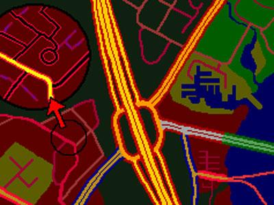 Tomtom grafikos rinkiniai: night multicolor - GPS ŽEMĖLAPIŲ GRAFIKA / Tomtom navigacijos grafika