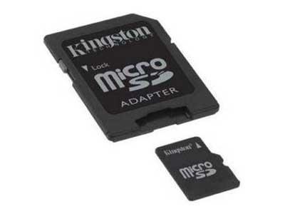 8GB µSD atminties kortelė - NAVIGATORIŲ PRIEDAI / Atminties kortelės