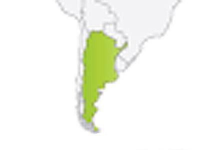Argentina - GPS ŽEMĖLAPIAI PND / Tomtom