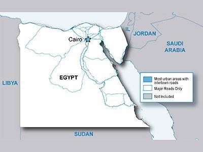 City Navigator Egiptas / Map of Egypt - GPS ŽEMĖLAPIAI PND / Garmin