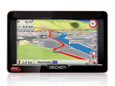 Becker Ready - GPS ŽEMĖLAPIAI PND / Becker