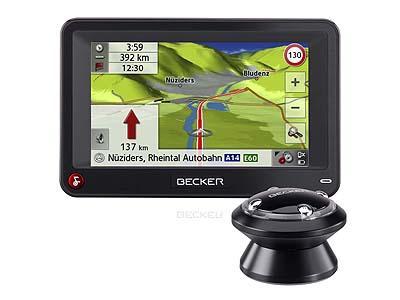 Becker Professional - GPS ŽEMĖLAPIAI PND / Becker