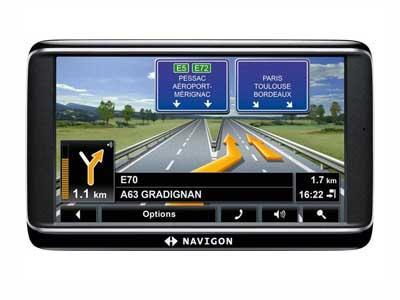 Navigon Premium - GPS ŽEMĖLAPIAI PND / Navigon