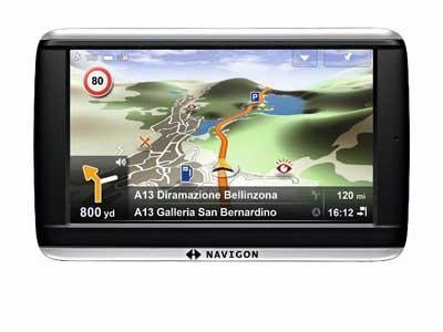 Navigon Plus - GPS ŽEMĖLAPIAI PND / Navigon