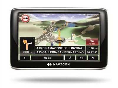 Navigon Easy - GPS ŽEMĖLAPIAI PND / Navigon