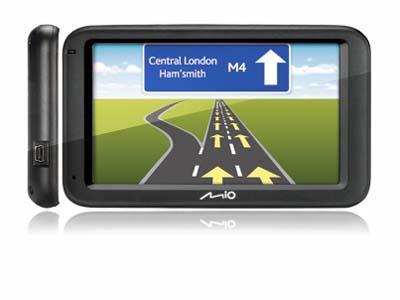 Mio Moov M - GPS ŽEMĖLAPIAI PND / Mio