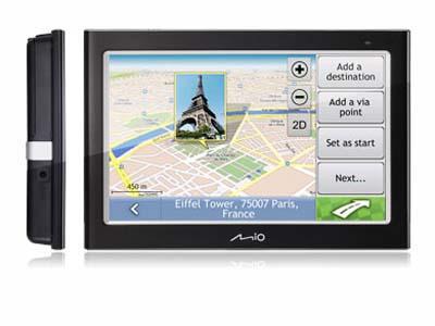 Mio C - GPS ŽEMĖLAPIAI PND / Mio