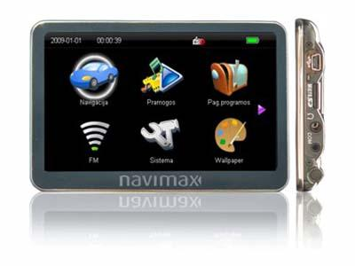 Navimax - GPS ŽEMĖLAPIAI PND / Navimax Powermax