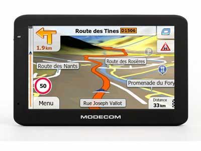 Modecom MX4 HD Europe TRUCK 2017 - GPS NAVIGATORIAI / Sunkvežimiams Modecom