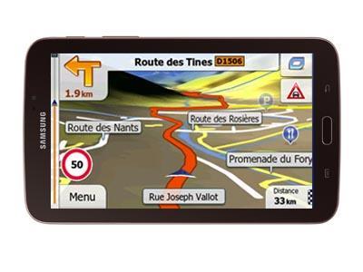 SAMSUNG Galaxy™ Tab®A 7.0 Primo TRUCK 2017 - GPS NAVIGATORIAI / Sunkvežimiams planšetės