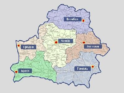 City Navigator Gudija (Baltarusija) / Map of Belorussia - GPS ŽEMĖLAPIAI PND / Garmin