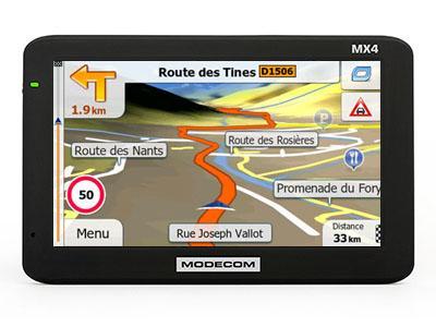Modecom FreeWay MX4 Europe X2 TRUCK 3.0 2017 - GPS NAVIGATORIAI / Sunkvežimiams Modecom
