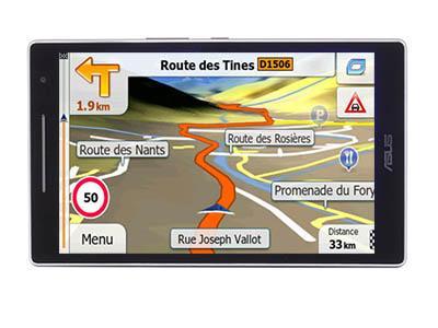 ASUS Zenpad 8.0 LTE Primo X2 TRUCK 2017 - GPS NAVIGATORIAI / Sunkvežimiams planšetės