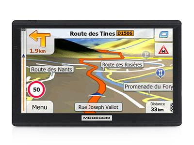Modecom FreeWay SX7.1 Europe X2 TRUCK 3.0 2018 - GPS NAVIGATORIAI / Sunkvežimiams