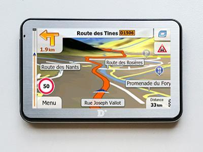 Dinivid N5 Primo X2 Europe 2019 - GPS NAVIGATORIAI / Lengviesiems