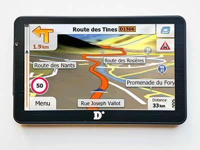 Dinivid N7 Primo X2 Europe 2018 - GPS NAVIGATORIAI / Dinivid