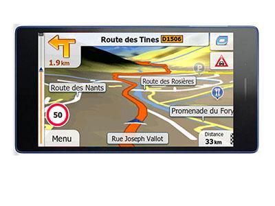 LENOVO TAB 7 Essential Primo X2 TRUCK 2018 - GPS NAVIGATORIAI / Sunkvežimiams planšetės
