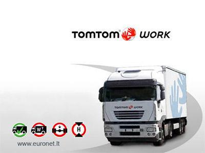 Naudoti sunkvežimių navigatoriai Tomtom GO920 / GO930 - GPS NAVIGATORIAI / Sunkvežimiams Tomtom